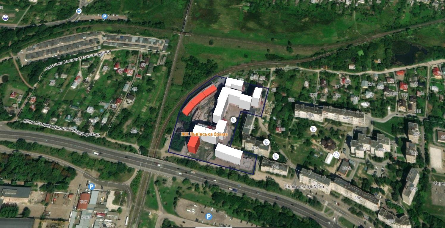 НАШІ ГРОШІ. ЛЬВІВ » Верховний суд постановив переглянути законність дозволів  на будівництво «Львівської брами» компанії «Ірокс»